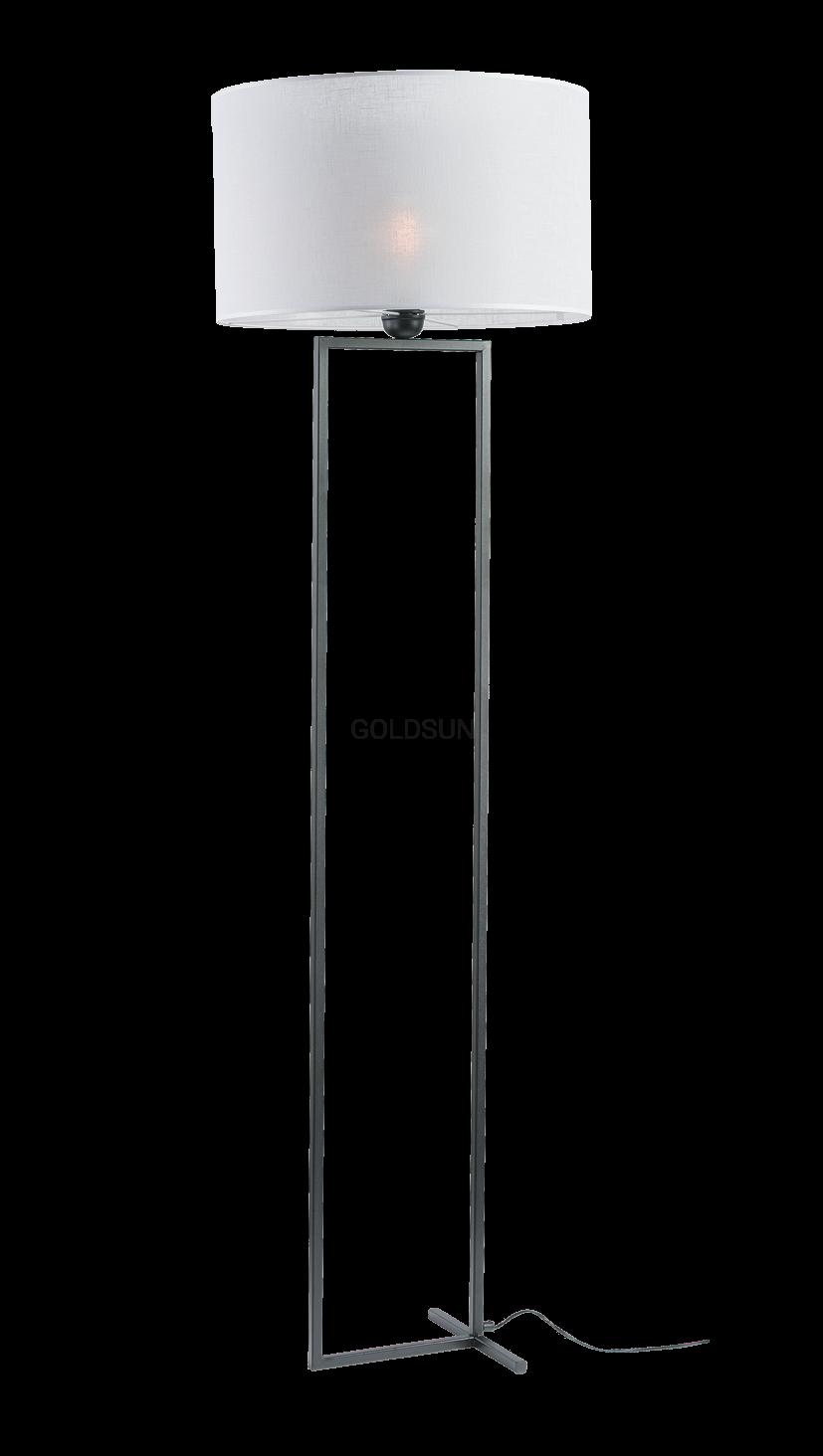 Nowoczesna Lampa Podłogowa Z Abażurem Prefa 2513 Goldsun